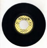 Johnny Clarke - Time Will Tell / Aggrovators - Drums Of Africa (Attack) UK 7""